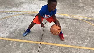 7-Year-Old Phenom Displays Elite Basketball Skills - Video