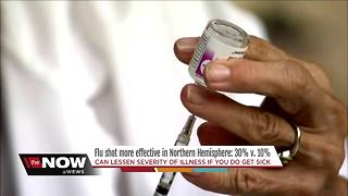 University Hospitals doctor explains why flu shot effectiveness increased from 10 to 30 percent - Video