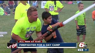 Firefighter for a day camp takes place in Carmel