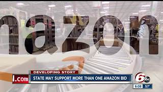 Indiana may support more than one Amazon headquarters bid - Video
