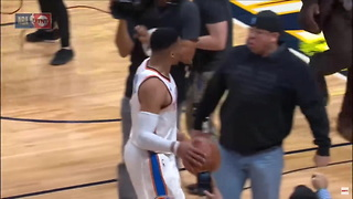 Rogue Fan Sparks Altercation With Russell Westbrook