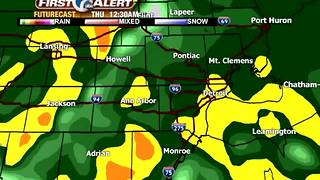 Tracking widespread rain - Video