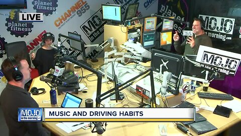 Mojo in the Morning: Music and driving habits