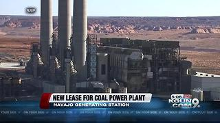 Navajo council approves lease extension for coal plant - Video