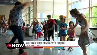 State Fair comes to Children's Hospital - Video