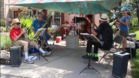 This Hero Is Playing Jazz To Keep His Neighbors Spirits Up! - OnlyGood Heroes