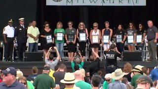 Fallen Officers Honored At Irish Fest