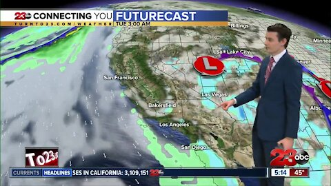 23ABC Evening weather update January 25, 2020