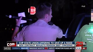 California Highway Patrol union offering to give up raise