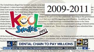 Kool Smiles dental to pay $23.9 million, allegedly submitted false claims - Video