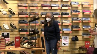 Family-owned Mar-Lou Shoes sees success in sales after reopening doors for business