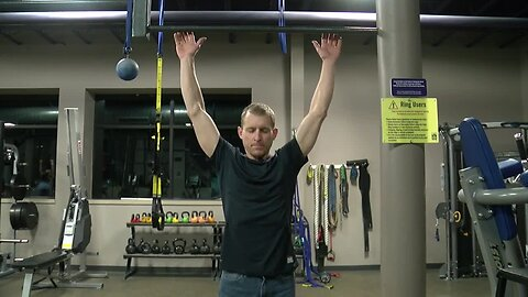 He holds a world record for pull-ups. His day job is just as impressive