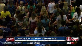Creighton remembers student from deadly crash - Video
