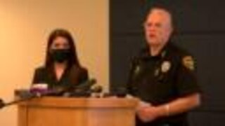Press conference on TPD in-custody death