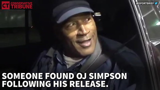 OJ Simpson After Release - Video