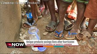 Unique products savings lives after hurricanes - Video