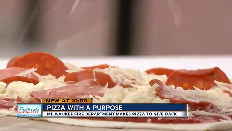 Positively Milwaukee: Milwaukee Fire Department makes pizza to give back