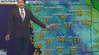 Robert's forecast for December 3, 2016