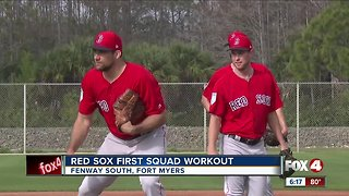 Red Sox training