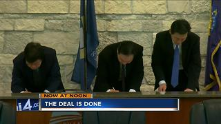 Foxconn deal is officially done - Video