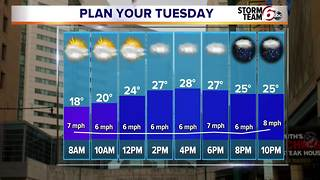 More snow ahead - Video