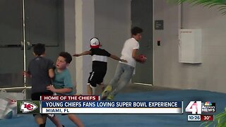 Chiefs quarterback Patrick Mahomes inspires young fans everywhere