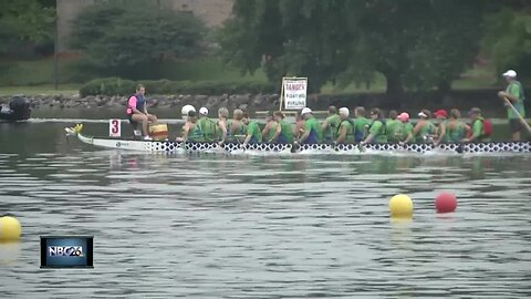 Dragon Boat Racing event in Green Bay