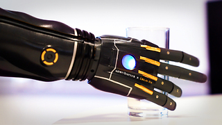 This robotics company created the world's first medically certifiable & customizable 3D printed arm.