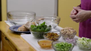 How to Make Tuna Apple Salad (AOL) - Video