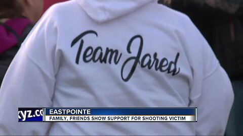 Family and friends show support for Eastpointe shooting victim