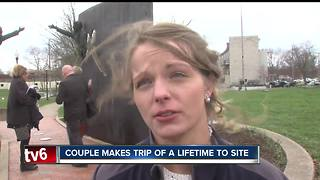 Wisconsin couple get married at Kennedy King Memorial Park - Video