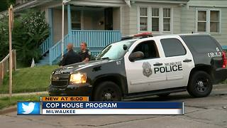 Cop House program places Milwaukee officers in neighborhoods - Video