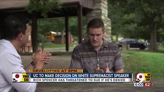 Will UC allow white nationalist to speak? - Video