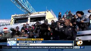 Hundreds of local kids Shop with a Cop - Video