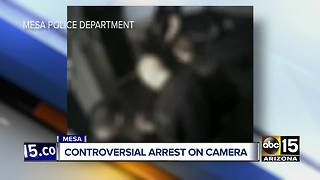 Man sues Mesa police, accuses officers of excessive force during his arrest