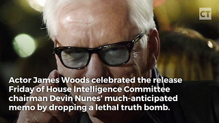 James Woods Celebrates #MemoDay With Message to Dirty Democrats