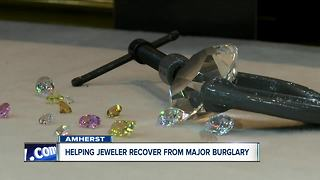 Sophisticated heist hits Amherst jewelry store - Video