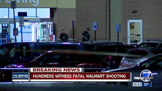 'This is really happening:' Witnesses describe the chaos inside Thornton Walmart - Video