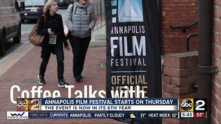 Annapolis Film Festival starts on Thursday - Video