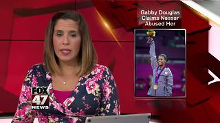 Olympic gymnast Gabby Douglas says Nassar abused her - Video