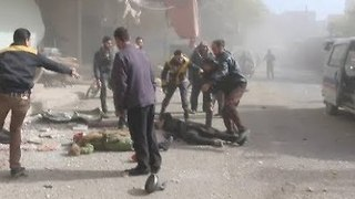 Multiple Casualties Reported Following Airstrikes in Eastern Ghouta - Video