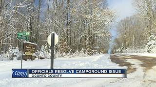 Closure of campground to be re-evaluated after threat resolved - Video