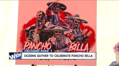 Bills fans gather to celebrate the life of Pancho Billa