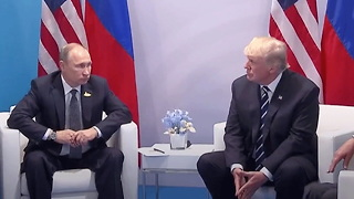 Putin And Trump Officially Meet At G20 Summit In Germany - Video