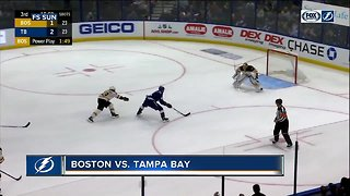 Tampa Bay Lightning beat Boston Bruins 3-2 for 5th consecutive win
