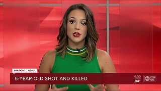 5-year-old boy shot, killed after shooting in St. Pete