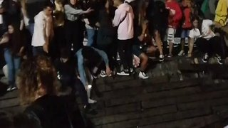 Hundreds Injured After Pier Collapses at O Marisquino Festival - Video