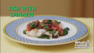 Fish with Spinach - Video