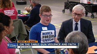 Local leaders and community members talk gun violence and faith at On the Table