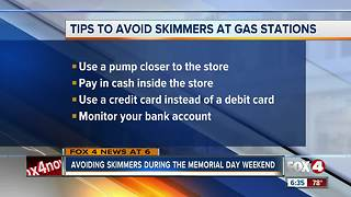 How to avoid gas pump skimmers - Video